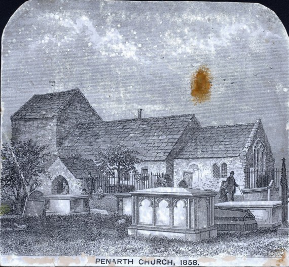 Penarth Church 1858
