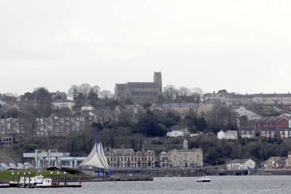 St Augustine's dominates the skyline