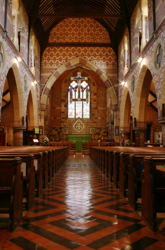 St Augustines Interior