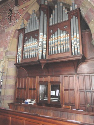 William Hill Organ St Augustines Penarth